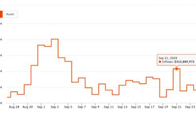 ¿Es alarmante una caída del 53% en la entrada de ETH para los comerciantes de DeFi?