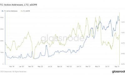 Estas métricas pintan una imagen de dos caras de lo que sigue para Litecoin